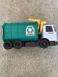 Matchbox Garbage Truck Large With Realistic Lights And Sounds Mattel