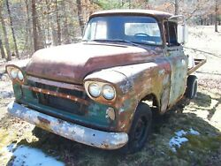 1959 59 Gmc Blue Chip Short Bed Truck 6cyl 3spd No Paperwork Salvage Parts Car