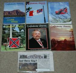 Lot 6 Confederate Veteran Magazines 2018 Complete Year + Civil War Courier News