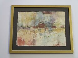 Robert Henderson Grieve Painting Abstract Modernism Expressionism Non Objective