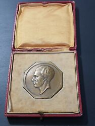 1936 King Leopold Iii Royal Racing Club Of Brussels Athletic Bronze Medal