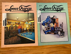 Vintage Loose Change Magazines Coin Op Slot Machines February, March 1982