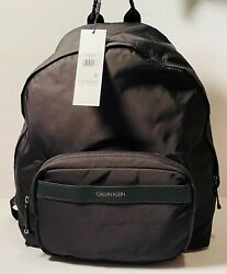 Calvin Klein Women#x27;s Landen Backpack Lightweight Medium Bag Black BRAND NEW $48.00
