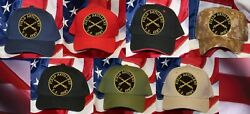 Field Artillery Hat Patch Cap Us Army Fire Pin Up National Guard Veteran Cannons