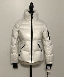 Women#x27;s SAM. New York New Freestyle Down Jacket Small Snow $75.00