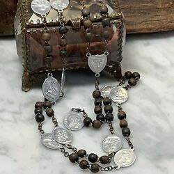 Antique French Mother Of Sorrows Servite Rosary