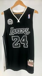 Mitchell And Ness Vintage Nba Jersey Lakers 60th Anniversary 2008 24 Bryant Mvp