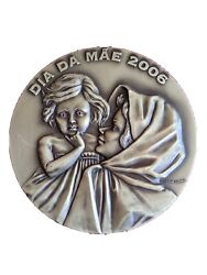 Motherandlsquos Love Day 2006 / Perfect Portugal Bronze Medal By J. Coelho. 90mm...