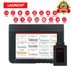 Launch X431 V Obd2 Code Scanner Diagnostic Tools Oil Epb Sas Abs Immo Tpms Gear