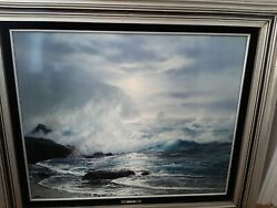 Raymond Page Silver Sounds Original Oil Painting