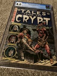 Tales From The Crypt 31 Cgc 4.0 Off White To White Pages =1st Al Williamson Art