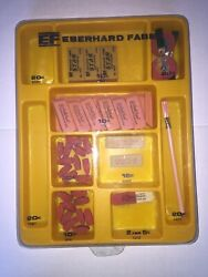 Eberhard Faber Rare Store Display Multi Eraser Set Must See New, Old Stock