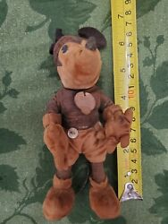 Walt Disney 1930's Steiff 7 Mickey Mouse Doll With Original Tag Still Attached