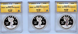 2016 P National Park Service Silver Dollar Anacs Pf 69 Dcam 5 Available Choose
