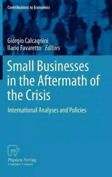 Small Businesses In The Aftermath Of The Crisis International Analyses And ...