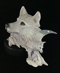 Artic Moon 1992 Fine Arts Sculpture By Rick Cain Limited Edition 71/2000 Fine