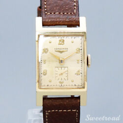 Longines 10kgf Cal.6312 Vintage 1950s Manual Hand Wind Watch