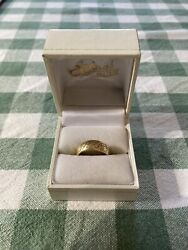 The Lord Of The Rings The One Ring 9ct Gold