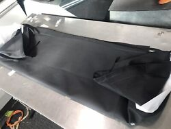 Jaguar E-type Series 3 V12 Black Mohair Replacement Hood And Rear Window