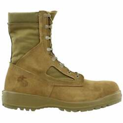 Belleville Hot Weather Steel Toe - Usmc Mens Work Safety Shoes Casual - Tan