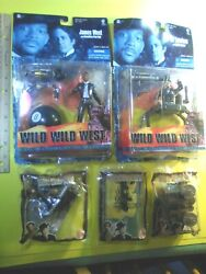 Wild Wild West Action Figures- James West, Dr. Loveless +. Both New In Packages