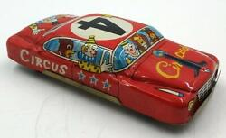 Vintage Large Japanese Tin Penny Toy Circus Car No. 4