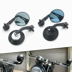 Motorcycle Handlebar End Side Mirror With M10bolt For Aprilia Fb Mondial Hps 300