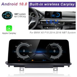 8-core Android 10.0 Car Gps Auto Wifi Carplay For Bmw X5 F15 2014 2015 2016 2017