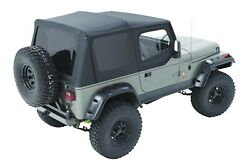 Bestop 79123-01 Sailcloth Replace-a-top Black For 88-95 Jeep Wrangler