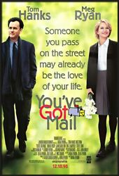 Youand039ve Got Mail - Framed Movie Poster Regular Style Size 27 X 39