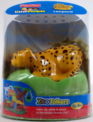 Fisher Price Little People ZOO TALKERS LEOPARD Interactive sounds NEW