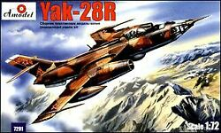 A Model From Russia 1/72 Yak28r Russian Bomber | 7291