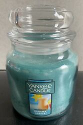 New BAHAMA BREEZE YANKEE JAR CANDLE MEDIUM 14.5 Oz.
