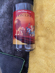 Vintage Burger King Disney Cup Boxed 1995 The Lion King Collectable Series Cup