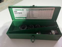 Greenlee 15 Pieces 3/4 To 1-1/2 Punch Hole Diam Manual Standard Punch Kit