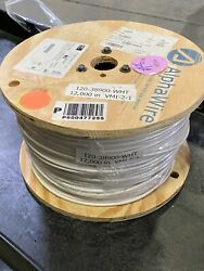 Alpha Wire 1,000 Ft. Spool, P/n 3081wh, 10 Awg, 600v, Ul 1015 120-38900-wht