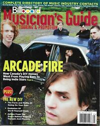 Billboard Magazine Arcade Fire Musician's Guide Complete Directory Of Contacts