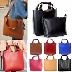 Women Leather Shoulder Messenger Purse Shopper Handbag Satchel Tote Travel Bag $16.99