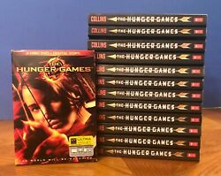 The Hunger Games - Paperback Books Teacher Lot Of 12 By Suzanne Collins + Dvd