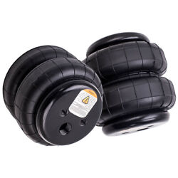 2 Air Bags 2500 Lb With 1/2 Hose Elbow For Truck Tow Kit Air Ride Suspension
