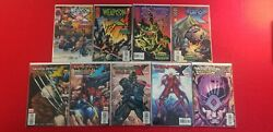 Weapon X Lot - 2 Complete Series - Days Of Future Now/ Age Of Apocalypse