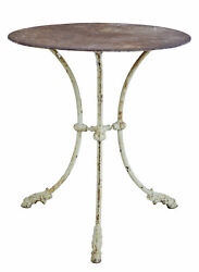 19th Century Victorian Cast Iron Occasional Table