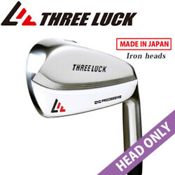 Head Only Three Luck Golf Japan D-tour Cnc Forged Iron 4,5,6,7,8,9,pw-set 2021c