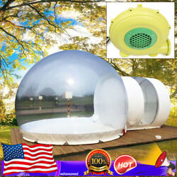 3m Inflatable Bubble Tent + Quiet Air Blower Eco Home Tent House Camping