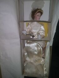 The Gibson Girl Bride Doll 1988 Franklin Mint 22 Doll