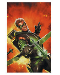 Justice League   The Green Arrow Movie Poster Print