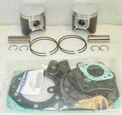 New Platinum Late Rebuild Kit .75mm Over Kawasaki 96-97 Ss Ssxi 98 Stx 750cc