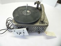 Vintage Sears Silvertone Record Player Modified For Parts Unknown Yeare