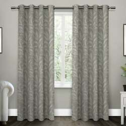 Ati Home Kilberry Woven Blackout Grommet Top Curtain Panel