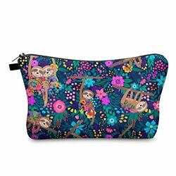 Makeup Cosmetic Bags for Women Portable Travel Organizer Bag for sloth1010 $10.62